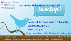 Roxtweet #4: Food Justice @ Food Day