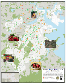 Urban Agriculture Rezoning -- Local Food Production and Distribution Map, thumbnail