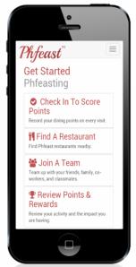 iPhone Phfeast app