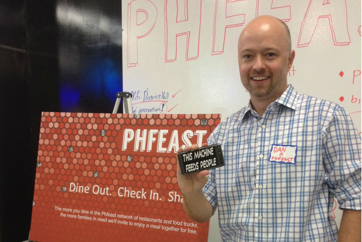 Phfeast founder Dan Napierski at Mass Foodie Night